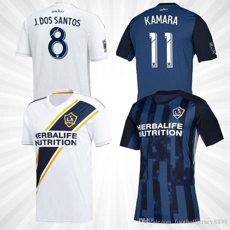 newest 04eed 6f1fd MEN KIDS La Galaxy 19 20 Zlatan IBRAHIMOVIC Soccer Jerseys 2019 2020 Los  Angeles Galaxy Long SLEEVE GIOVANI ALESSANDRINI Football Shirts