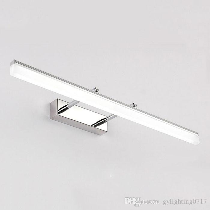Indoor LED Bathroom Lights Wall Mounted Modern LED Wall Lamps for Home Gold Silver Picture Lights Cabinet Sconces