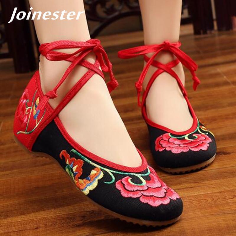 3b629fd47 Compre Designer De Vestido Sapatos Cross Amarrado Das Mulheres Do Verão Do  Vintage Bombas Elegantes Para Senhoras Étnicas Casual Vestido De Festa Low  Heeled ...
