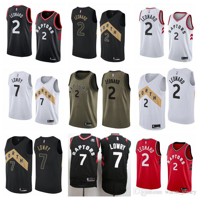 finest selection 4d422 4c8db Men Kawhi Leonard Toronto Kyle Lowry Raptors Brand 2019 All-Star Game  Finished Swingman Jersey Black