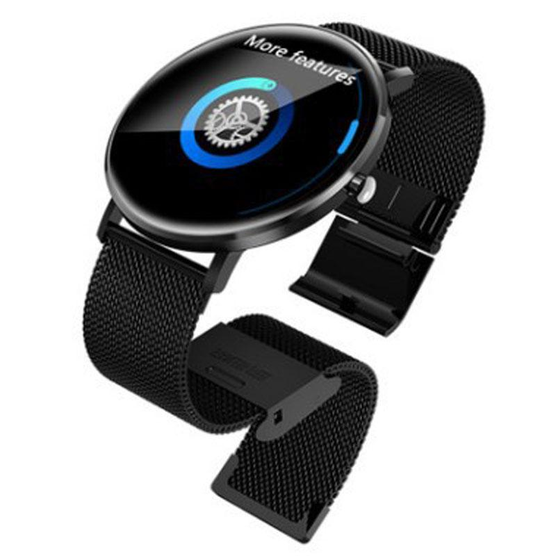 3dcae9ddd659 Compre 2019 Nueva Pantalla A Color Reloj Inteligente Pareja Salud Monitoreo Marca  Relojes Hombres GPS Deportes Reloj Impermeable Mujer Reloj Bluetooth A ...