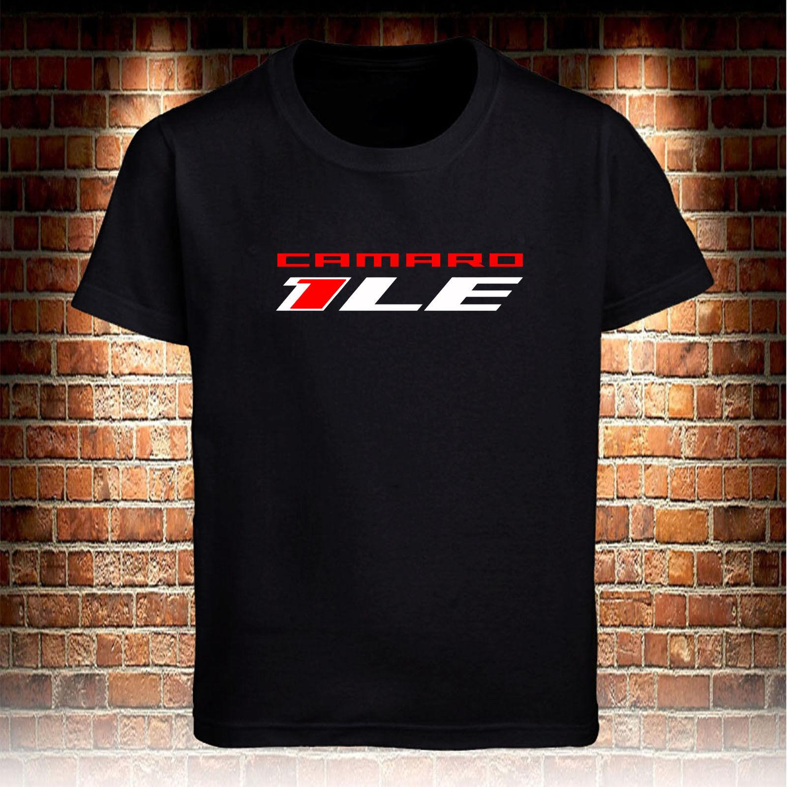 58c6ee08 Black T-shirts Chevrolet Chevy Camaro 1LE 1 LE Men's Size S to 3XL Funny  free shipping Unisex Casual