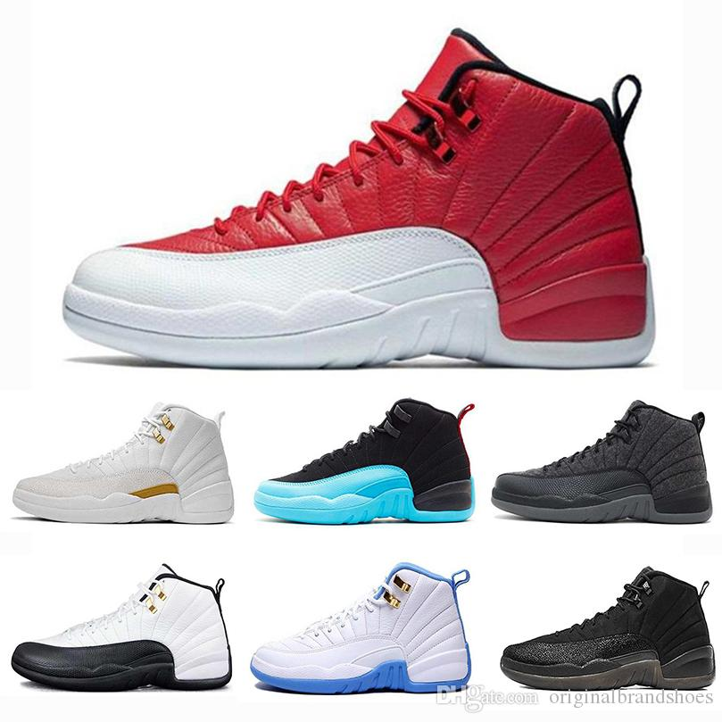 4f2c3cce6d1f1a Air More Mens Basketball Shoes XII 12s High Quality 12 Taxi Playoffs ...