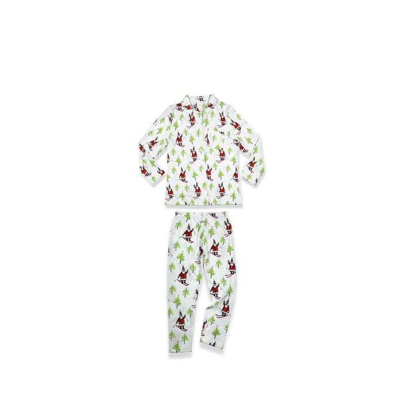 2018 Familie Matching Weihnachten Pyjamas PJs Sets Kinder Erwachsene Weihnachten Nachtwäsche Nachtwäsche Kleidung Familie lässig Sankt-Kleidung Set