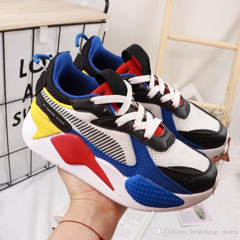 28e3a268aed5a Acheter Chaussures Puma Rs Kids Hot Big Kids RX S Jouets Chaussures De  Course Enfants Garçon Filles Baskets Occasionnels Designer De Luxe Sneakers  Sports En ...