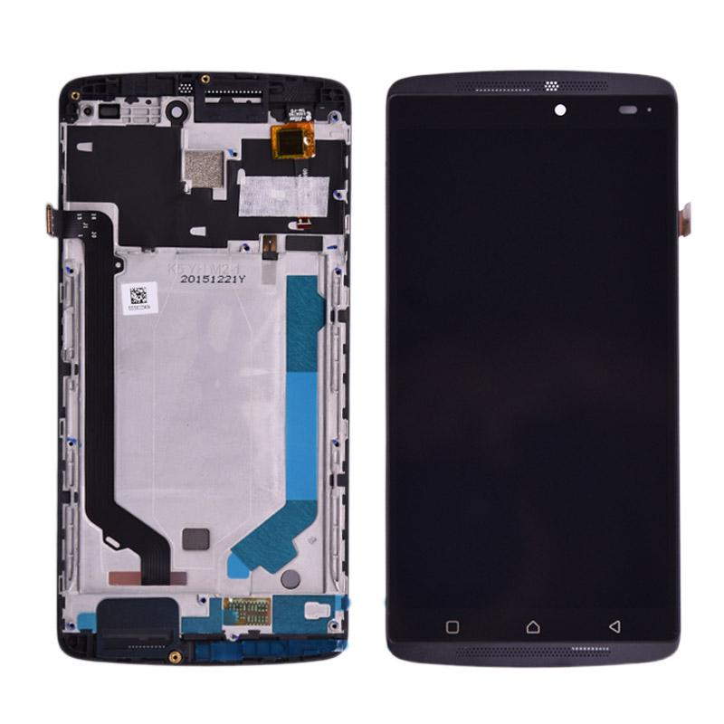 100% authentic ee658 dfbaf 5.5 inch For Lenovo K4 note A7010 LCD Display Vibe K4 Note LCD Screen Touch  Screen Panel Digitizer Assembly with frame
