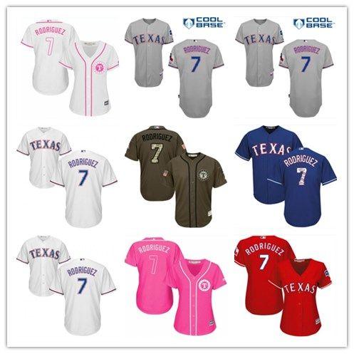 on sale bf272 9363c 2018 top Texas Rangers Jerseys #7 Ivan Rodriguez Jerseys  men#WOMEN#YOUTH#Men's Baseball Jersey Majestic Stitched Professional  sportswear