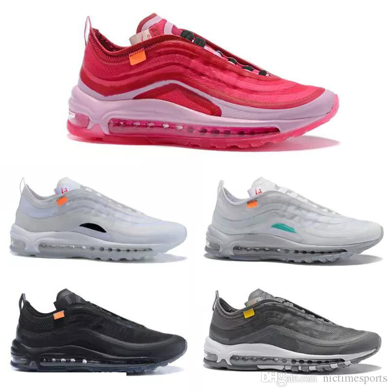2019 2019 97 TN OG Air White Running Max Shoes Mens Fashion Luxury Designer  Women Kids Sports Shoes Sneakers Trainers Athletic Size 36 45 From  Nictimesports ... 0b68ba232