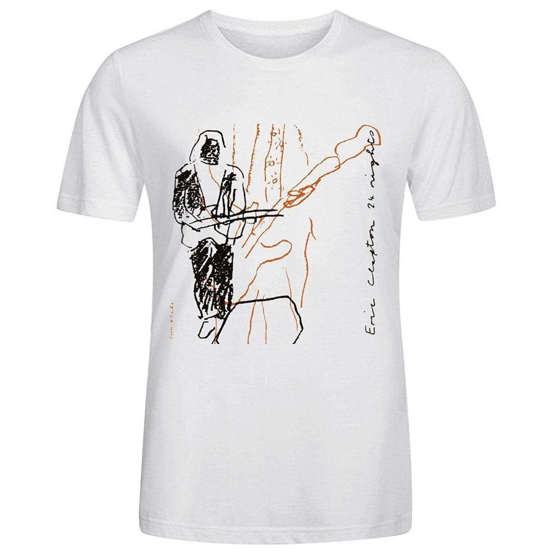Mens Designer T Shirts Shirt Print Men T Shirt Summer Eric Clapton