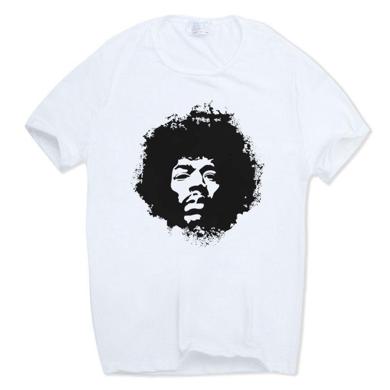 12aed92c4b Compre 2019 Homens Mulheres Rock Legend Músico Jimi Hendrix T Shirt De Manga  Curta O Pescoço Harajuku Ganhos Hip Hop Camiseta Branca Hcp490 De  Godbless004, ...