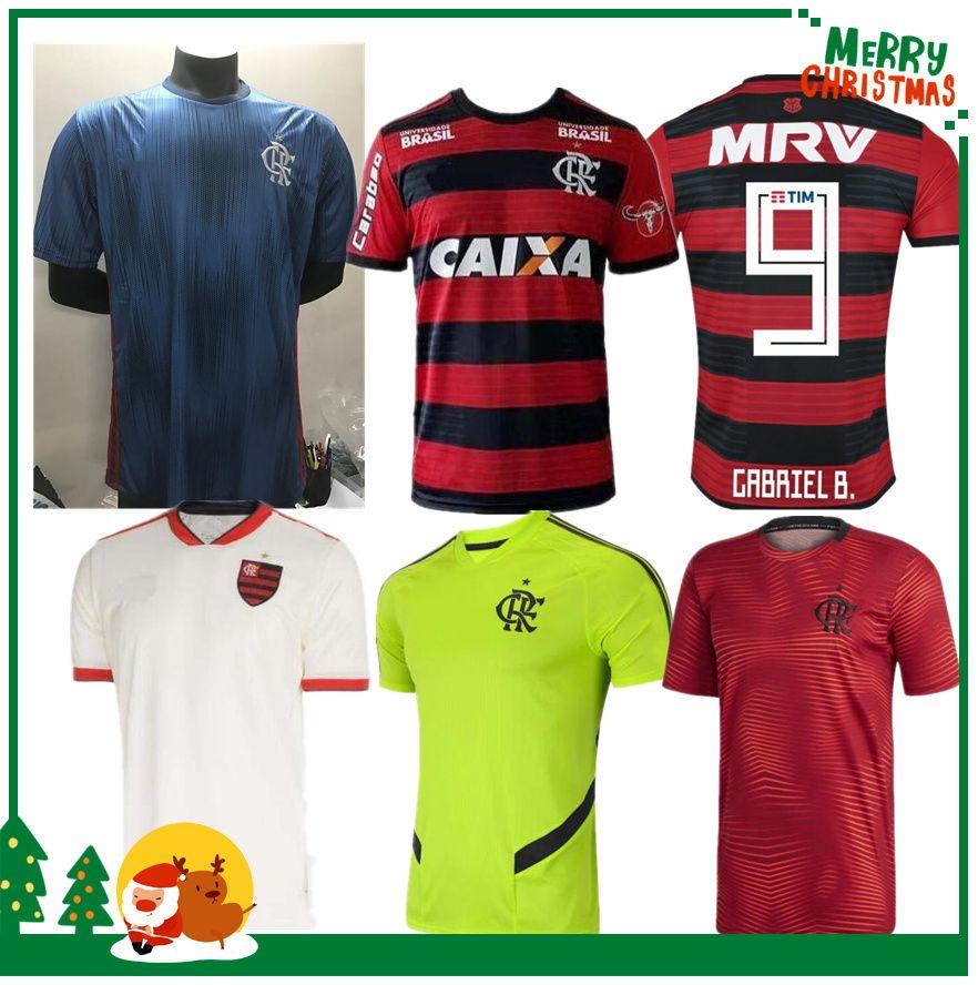 2019 18 19 Flamengo Jersey 2018 2019 Flemish GUERRERO DIEGO VINICIUS JR Soccer  Jerseys Brazil Flamengo GABRIEL B Sports Football Woman Shirt From  Kongjunlin ... 7fdfaeb90