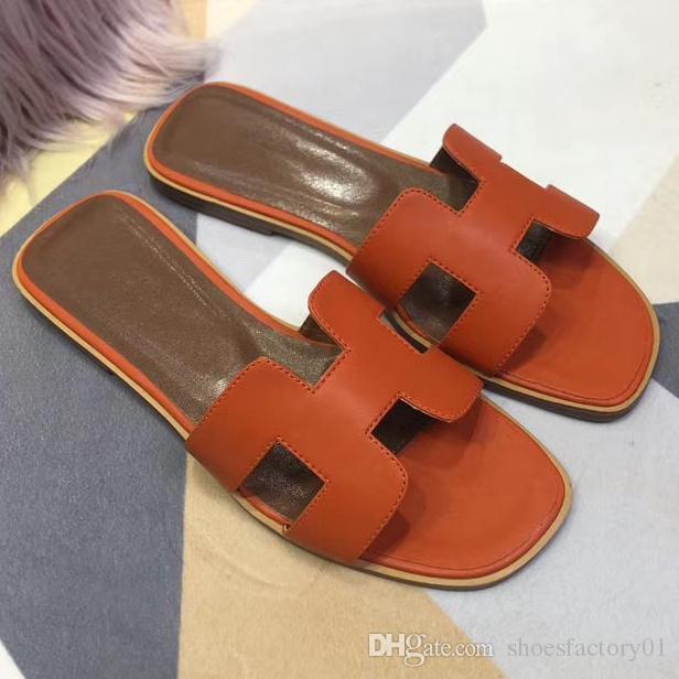 9478a4bf9a75 2019 Causal Non Slip Summer Slippers Flip Flops NEW Designer Slipper Gear  Bottoms Women Popular H Flip Flops Ladies Slippers Boys Slippers From ...