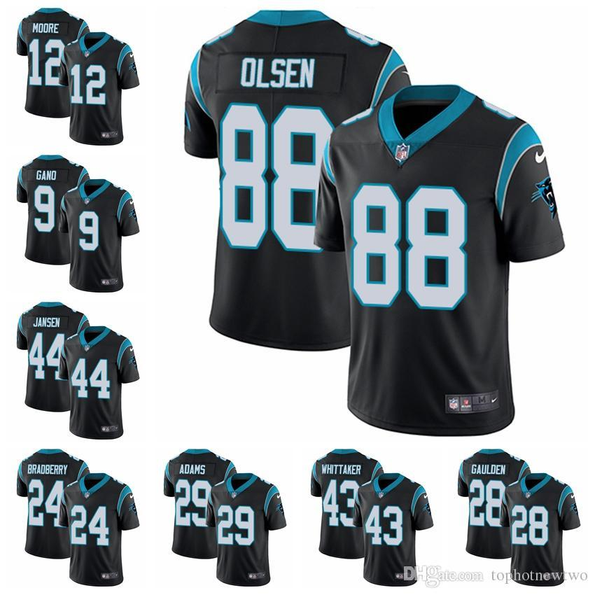 74a4f902d 2019 Carolina Limited Home Football Jersey Panthers Black Vapor Untouchable  22 Christian McCaffrey 1 Cam Newton 59 Luke Kuechly 11 From Jerseyptb21