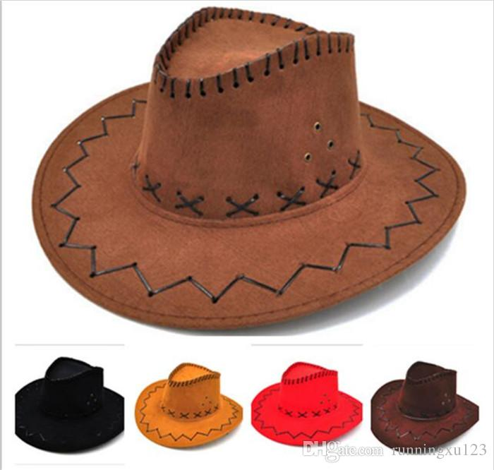 ded33112c69 Wide Brim Hats Western Cowboy Hat Mongolia Prairie Sun Hat Outdoor Tourism  Knight S Hat R254 Hats For Men Sun Hats From Runningxu123