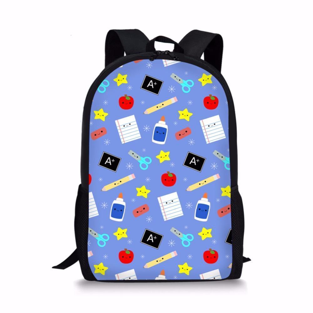 4b48e17f7b NOISYDESIGNS Nice Kids Back To School Backpack Set Children School Bags  Kids Primary Backpacks S For Girls Boys Schoolbag Laptop Bags Messenger  Bags From ...