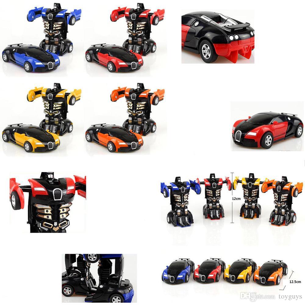 Step By Step Deformation Bugatti Cars Toys King Kong5 Bugatti A Key