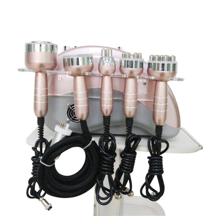 Hot Seller 6 in 1 Radio frequency RF machine 40k Ultrasonic cavitation Vacuum slimming machine For Skin Tightening Body Slimming Machine