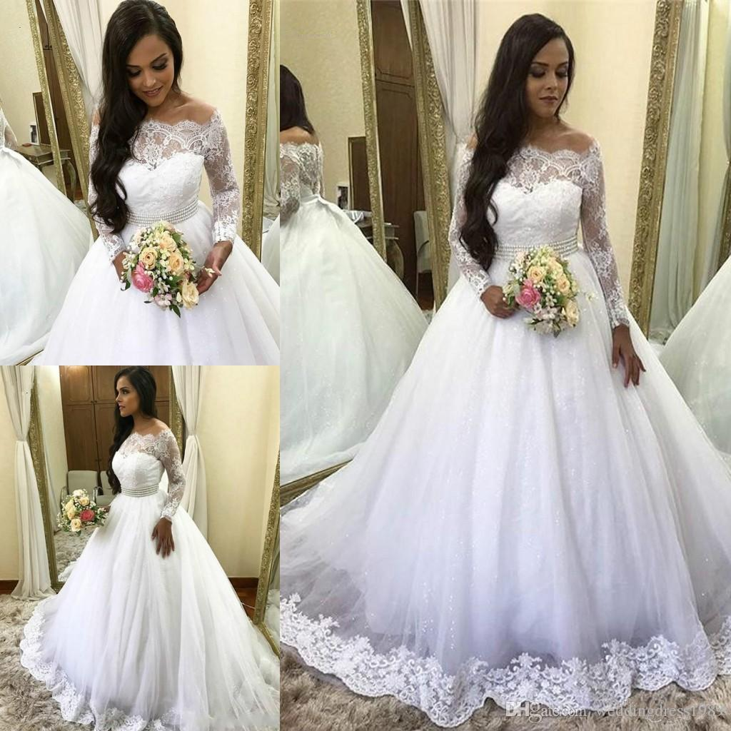 9ae50f346a1 Cheap Mermaid Wedding Dresses for Girls Discount Cathedral Train High Neck  Wedding Dresses