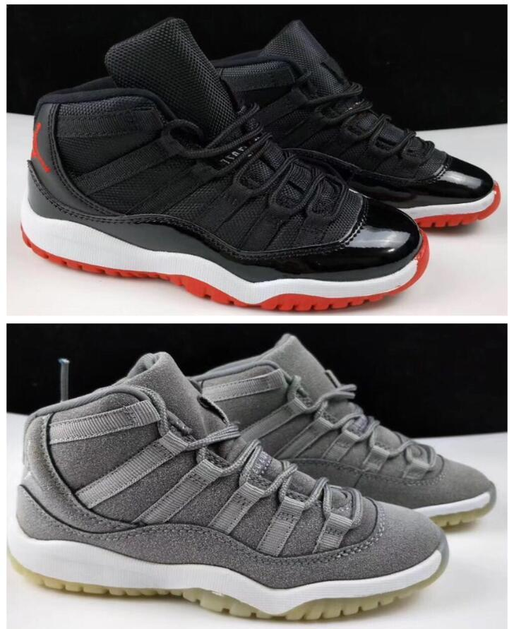 8df86f328248e1 New 11 Low Space Jam Kids Sports Basketball Shoes GS Children s ...