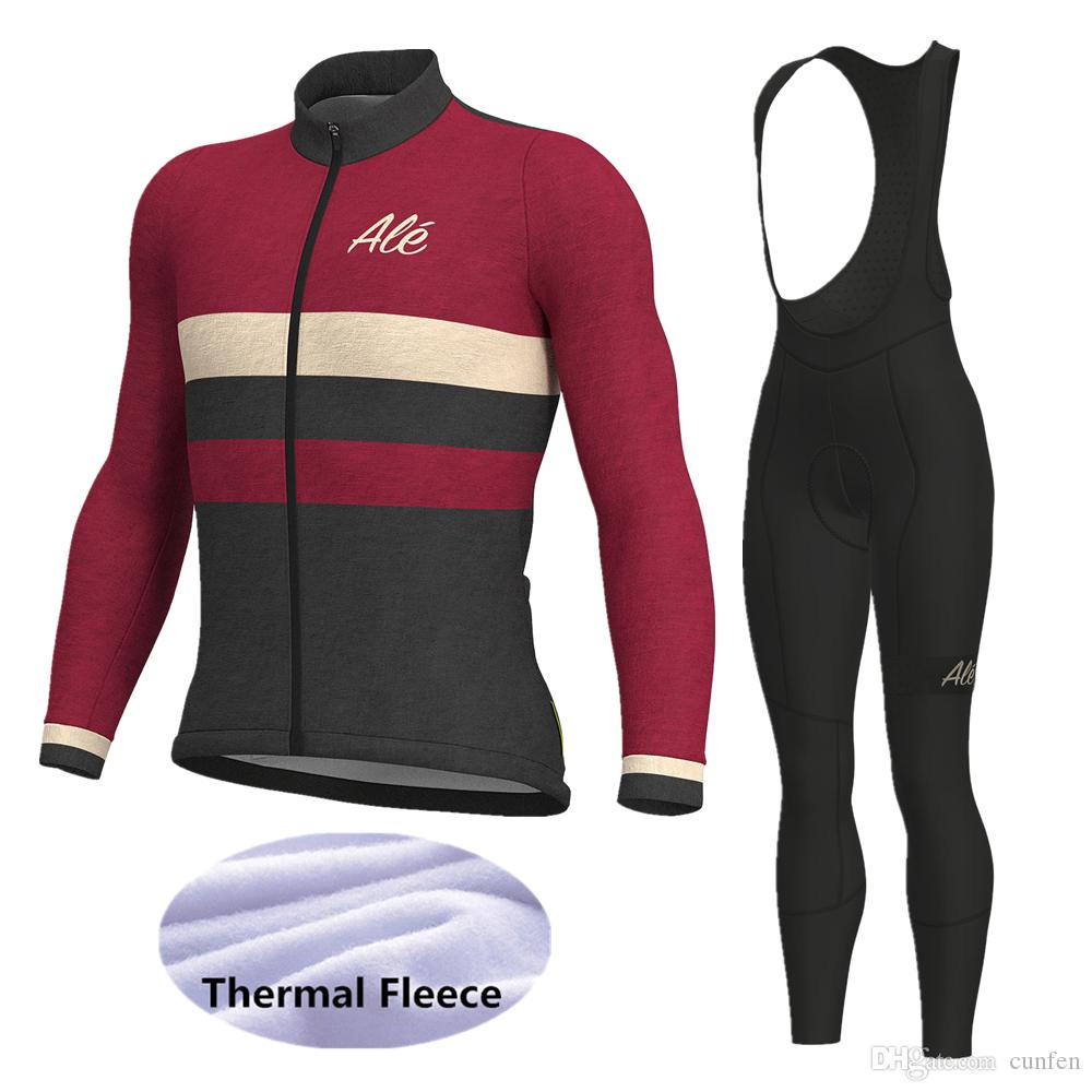 Brand New Team Solo Superia Fleece Thermal cycling Long Sleeve Jersey