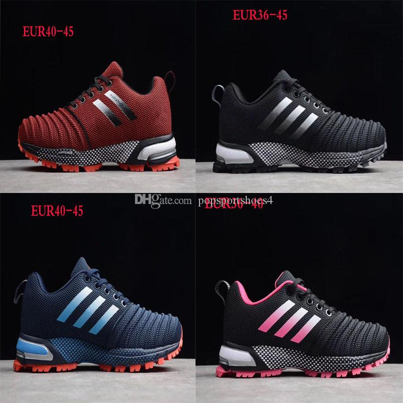 new concept 3366d a0db6 High Quality Brand aerobounce st m Breathable Mens Women s Marathon  Outdoors Running Shoes Sports Shoes Mesh Ultra Light Sneaker Size 36-44