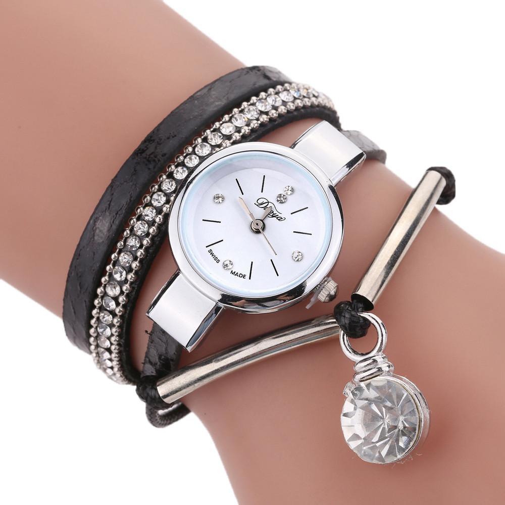 aedd07d2e156 Compre DISU Mujeres Chicas Relojes Pulsera Joyería Pulsera Relojes Moda  Reloj 2019 Relojes Para Mujer A  36.51 Del Htiancai