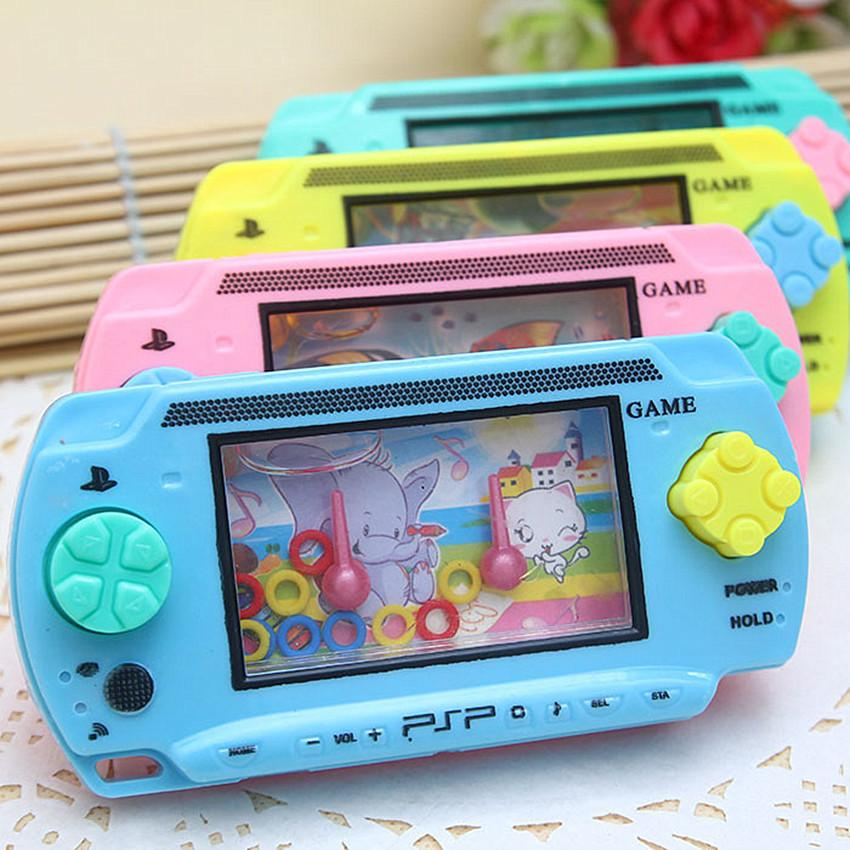 1Piece Water Ring Toss Child Handheld Game Machine Cultivate Child Thinking Ability Toys Parent-Child Interactive Game Toys