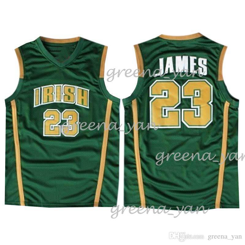 hot sales ea1a1 6ecd5 NCAA 23 LeBron James 13 Harden 33 BIRO 23 LeBron James University  Basketball jerseys 18/19 Hot sale Jersey