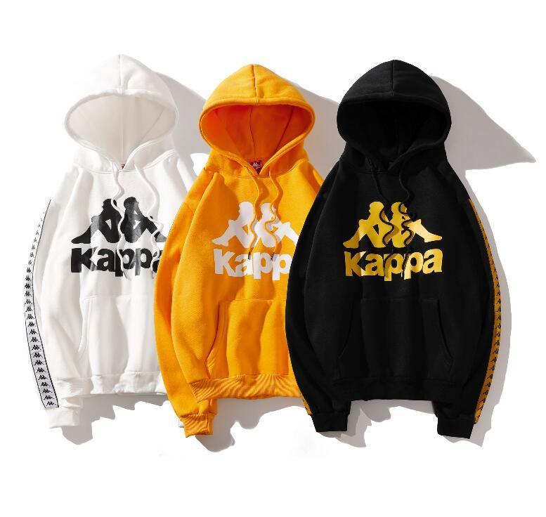 5823a0a6 classic pink plus velvet Men Hoodie Hip Hop Streetwear Hoodie Jogging Men  Pullover Sport Women Hoodies kappa
