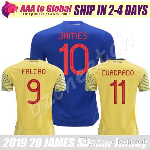 760b8d173d328 Top JAMES FALCAO Camiseta 2020 De Calidad Tailandesa Camisetas De ...