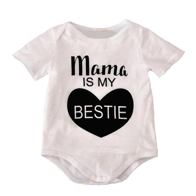 51890db4fbf9 2019 Summer Babys Romper Toddler Newborn Baby Boys Girls Short ...