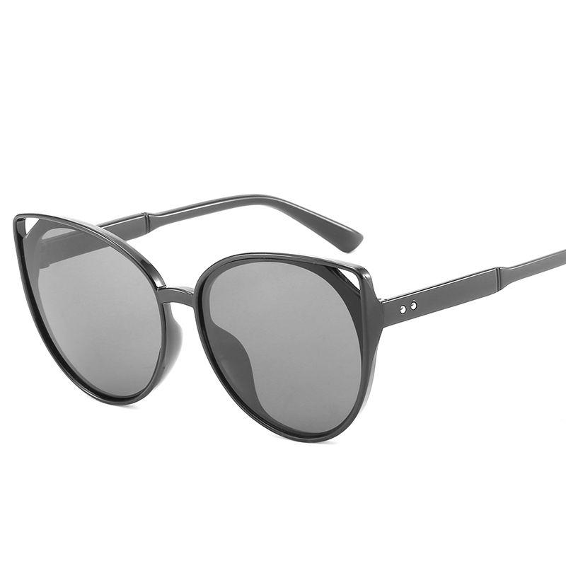 f38da369e7 Vintage Cat Eye Round Sunglasses Women Men Female Brand Frames ...