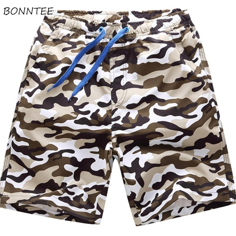 afacc78764 2019 Board Shorts Men Summer Quick Dry Breathable Printed Elastic ...