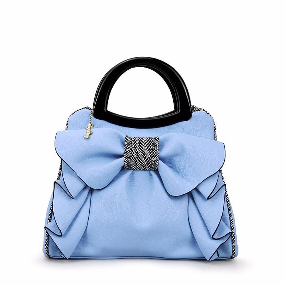 Brand Top Handle Bags Women S Handbags Bow Flowers Luxury Women Bags  Shoulder Bag Ladies Summer Hand Bags 894 Italian Leather Handbags Luxury  Handbags From ... 4f3873c04c608