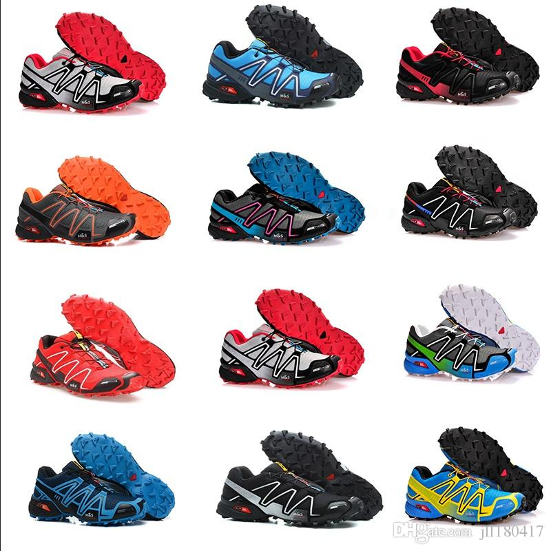 design intemporel 707fc 1241c Drop Shipping 2018 High Quality New Zapatillas Speedcross 3 Running Shoes  Men Walking Ourdoor Sport Speed cross Athletic Shoes Size 36-46