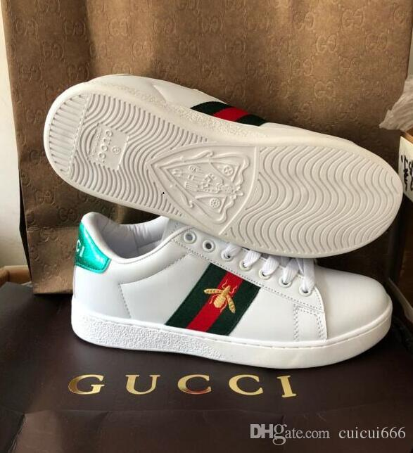 dca8eff616d008 2019 GUCCI New Forcing 1 Men Women Shoes Sneakers Sports Trainers Casual  Outdoor Shoes With Box Size 36 44 A6100 Oxford Shoes Tennis Shoes From  Cuicui666, ...