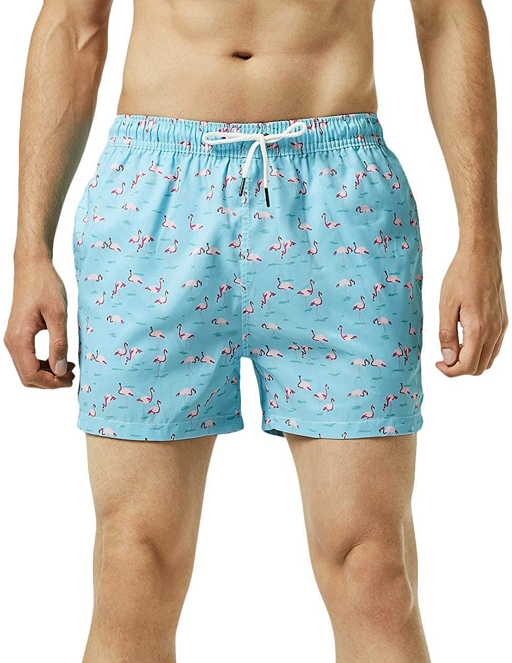 b1d2fbd942 2019 MaaMgic Mens Slim Fit Quick Dry Short Swim Trunks With Mesh Lining  From Ounijiang, $20.21 | DHgate.Com