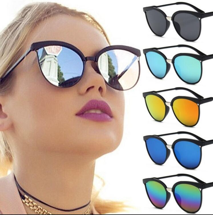 e3e7b35180 2019 Cat Eye Sunglasses Women Luxury Plastic Sun Glasses Classic ...
