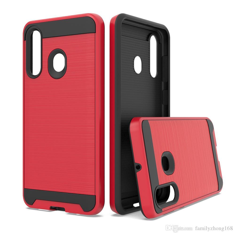Híbrido Protector Case telefone à prova de choque macio dura Armadura MARS para MOTO E5 E5 jogar Samsung A10 A2 núcleo Detalhe Package cada cor At Least