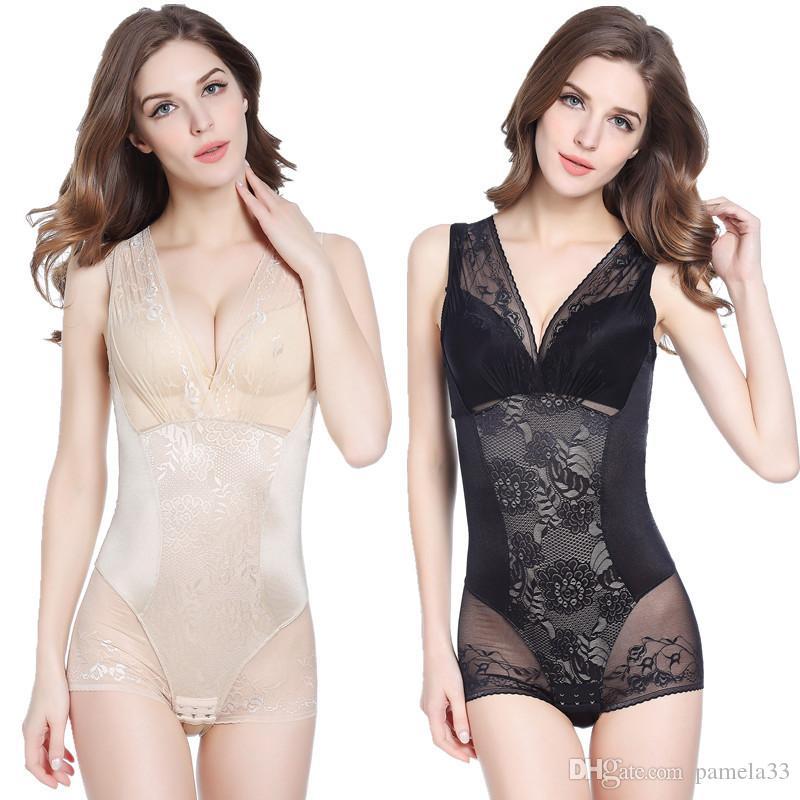 3c8b37346 2019 Bra Lace Transparent Party Lingerie Corset Women Post Postpartum  Slimming Underwear Shaper Recover Bodysuits Shapewear Waist Girdle From  Pamela33