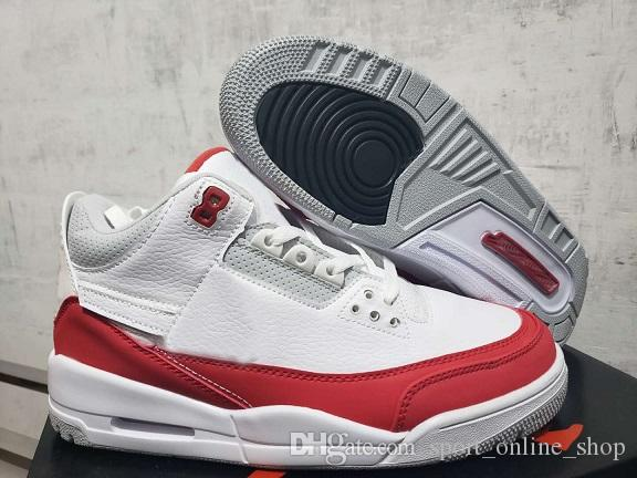 cdc69ed66b6be4 2019 2019 3 Tinker Basketball Shoes Tinker 3AIRMax 1 White University Red  Neutral Grey Outdoor Sports Shoes Size7~13 With BoxFrom Sport online shop