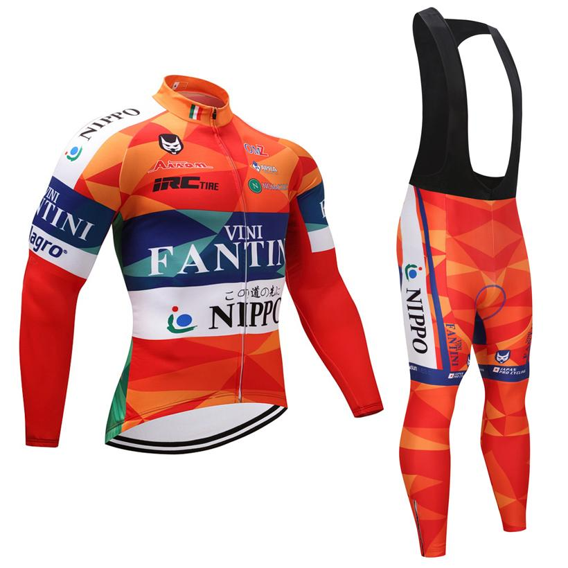 1d06212d5 Winter Cycle Clothing 2019 Pro Team Fantini Cycling Jersey Set Ropa Ciclismo  Invierno Men S Warm Bicycle Clothes 9D Padded Pants Kit Bike Clothes Bike  ...