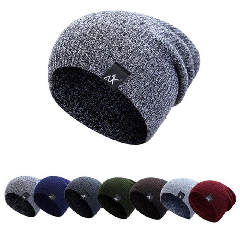 3fec7bed6b5 2018 Fashion Knitted Winter Hat Winter Brand Camping Ball Cap Beanie ...