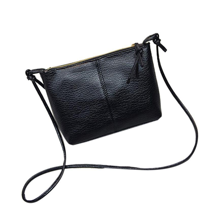 ee2a75506073 Cheap Women Shoulder Bag Leather Bag Clutch Handbag Tote Small Lady Purse  Female Hobo Zipper Messenger Phone Pocket Drop Ship  Y Leather Briefcase  Wholesale ...