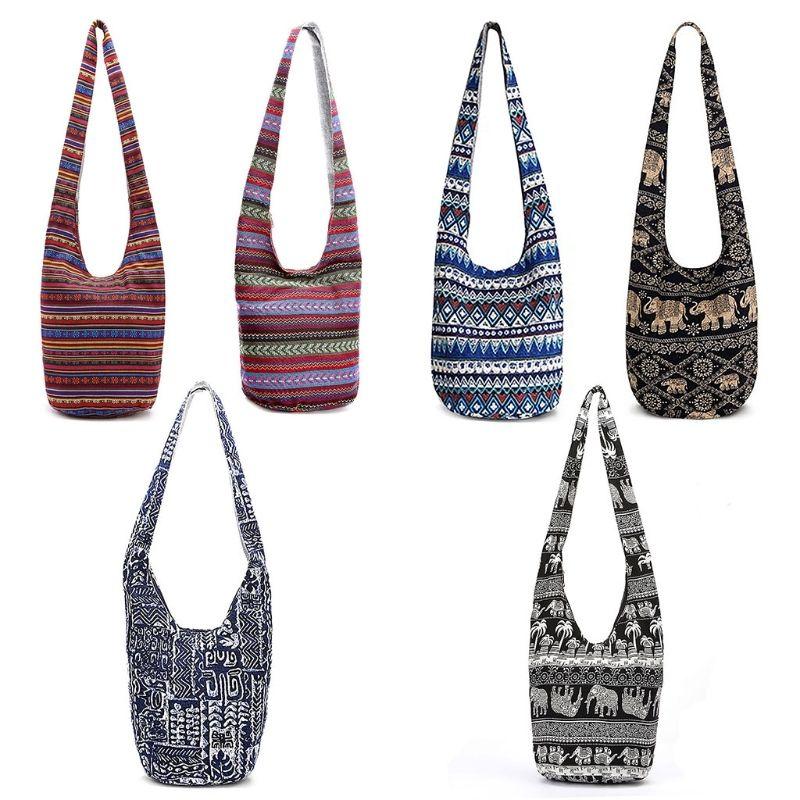 1ddedf4c2 NoEnName_Null Mujeres de alta calidad Hippie bolsos de hombro Fringe  Monederos Étnicos Tote Bolso Bolsa de viaje Bolsa de hombro # 34612