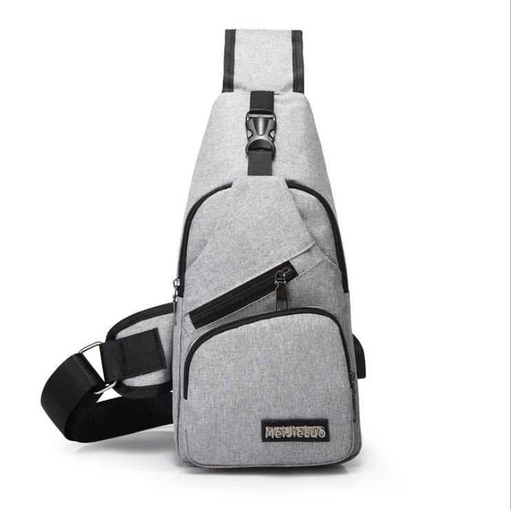 2b9fb65672 New Arrival Oxford Men Chest Pack Single Shoulder Strap Back Bag Crossbody  Bags For Women Sling Shoulder Bag Back Pack Travel Handbags Bags From  Sophine15