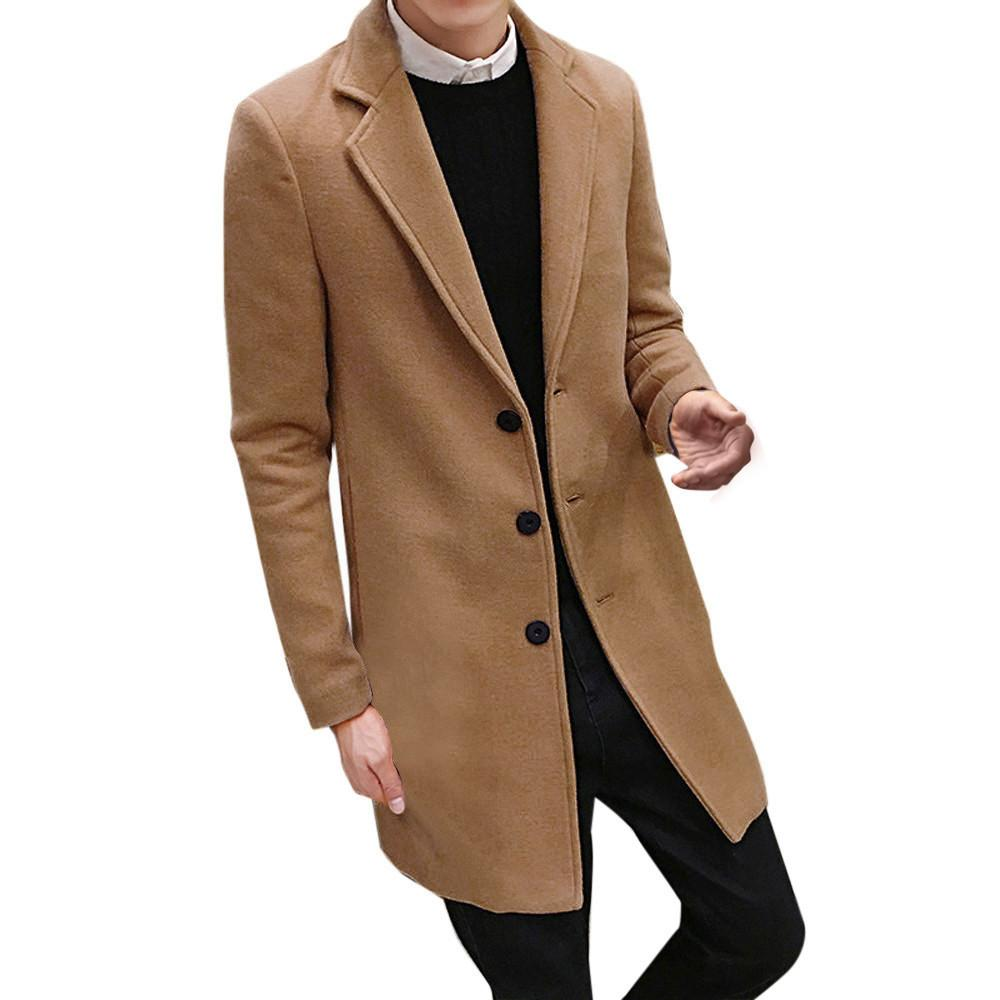 Mantel herren warm