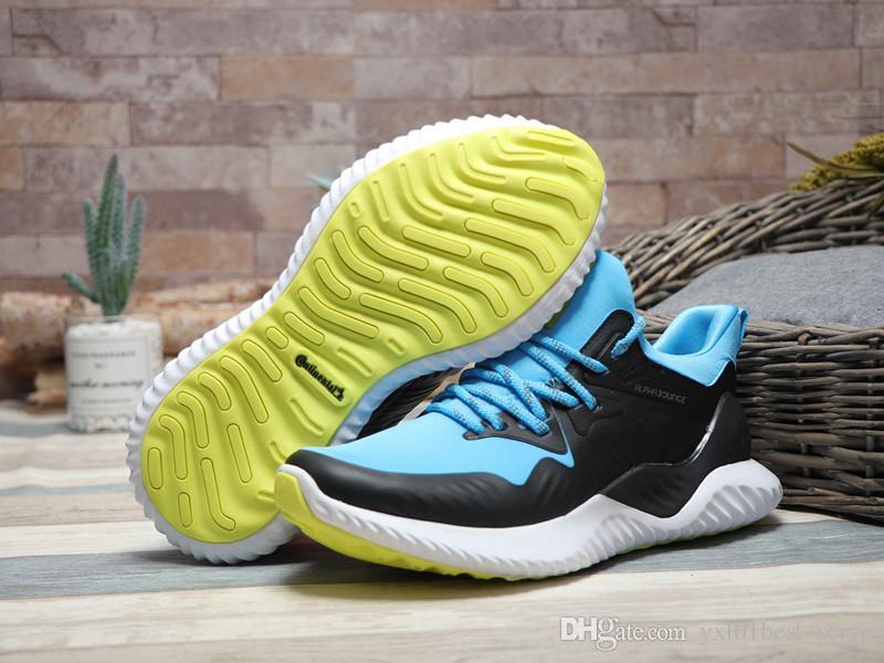 classic fit 97f02 7ad0b Compre 2019 Nuevo Alphabounce Beyond M Forged Mesh Zapatos Para Correr De  Buena Calidad Negro Azul Zapatillas Hombres Mujeres Moda Zapatillas De  Deporte ...