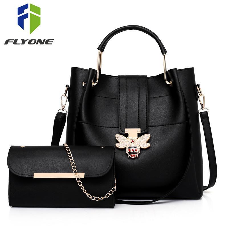 Fashion Women Bags Set Leather Shoulder Bag Casual Messenger Bags Ladies  Designer Purse Solid Color Crossbody Bag Handbags Shoulder Bags Cheap Shoulder  Bags ... 04827d303a4dc