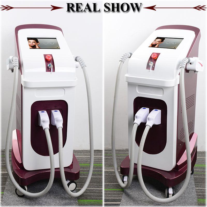 2019 mejor venta láser Elight máquina de depilación IPL opt SHR depiladora rápido permanente de la máquina multifuncional